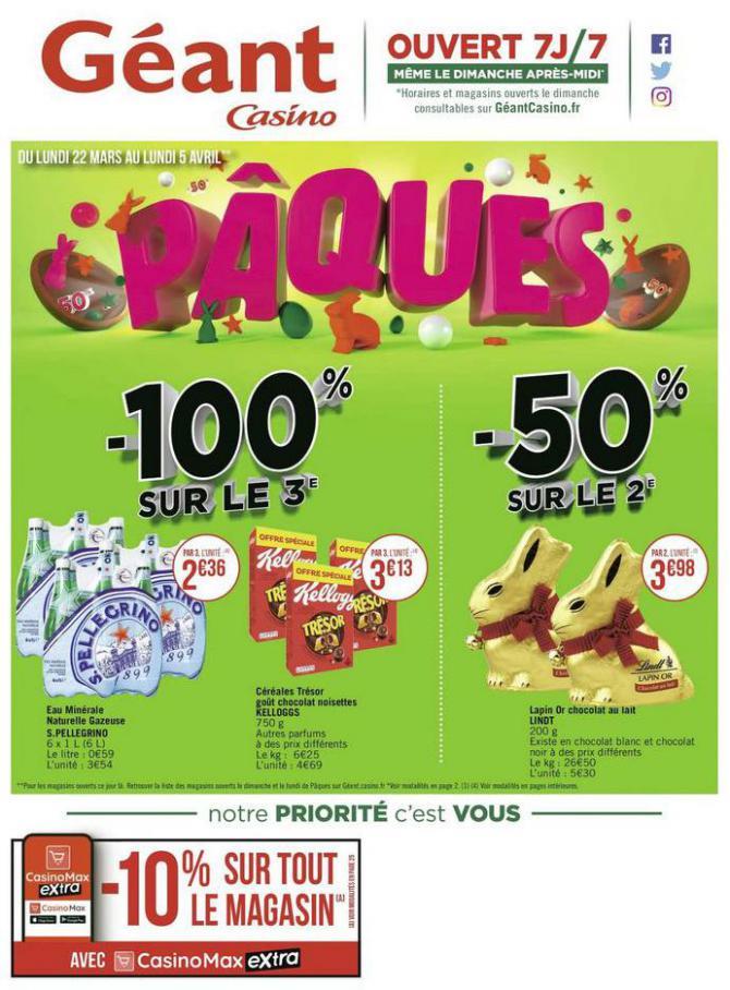 Pâques . Géant Casino (2021-04-05-2021-04-05)