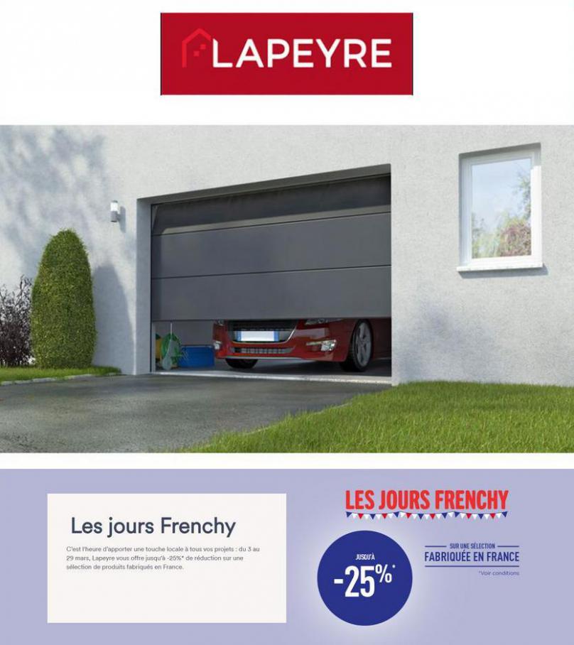 Les Jours Frenchy . Lapeyre (2021-03-29-2021-03-29)