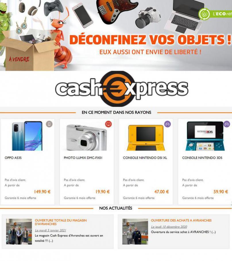 Offres Cash Express . Cash Express (2021-04-15-2021-04-15)