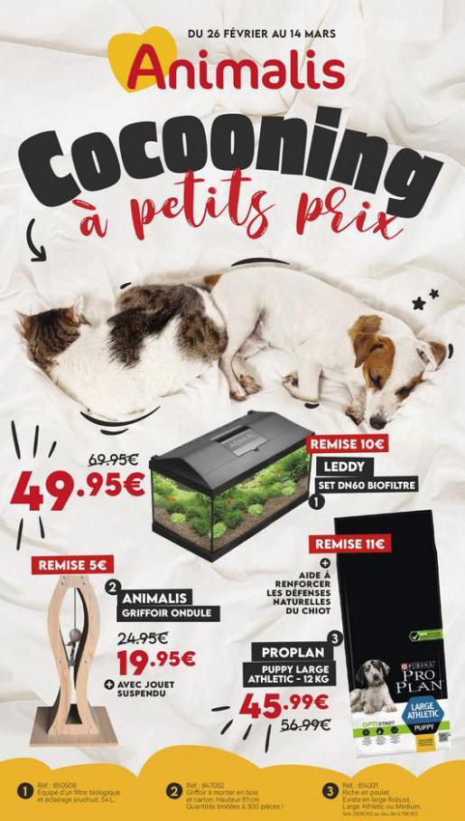 Cocooning à petits prix . Animalis (2021-03-14-2021-03-14)