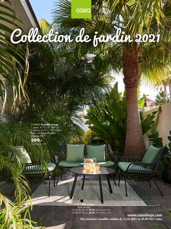 Collection de jardin 2021 . Casa (2021-09-30-2021-09-30)