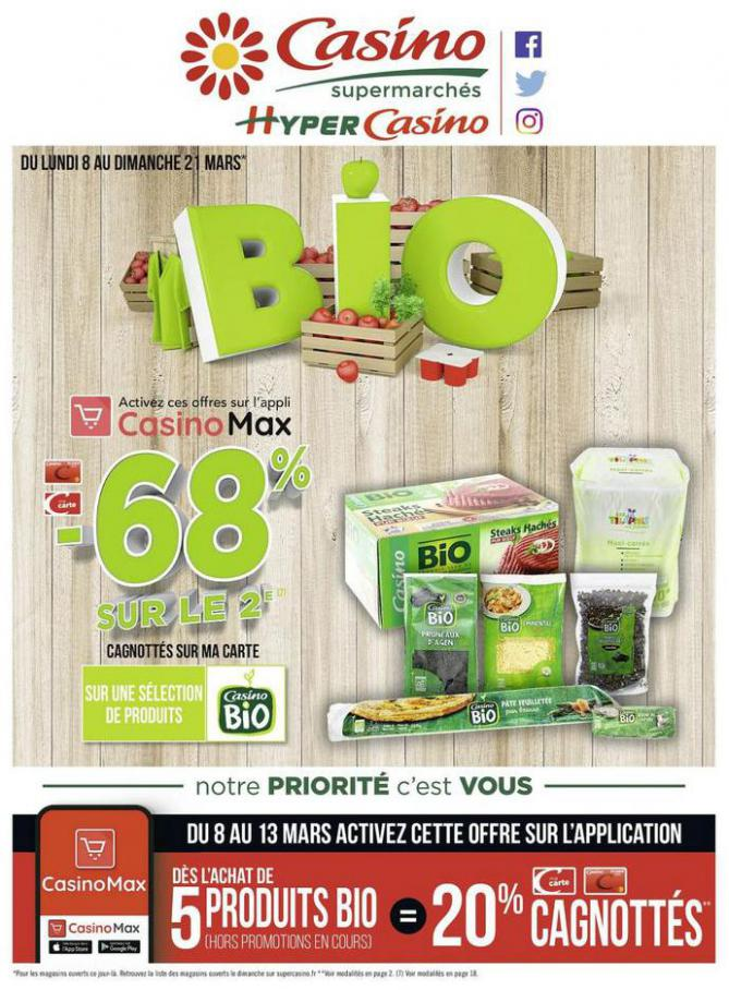BIO . Casino Supermarchés (2021-03-21-2021-03-21)