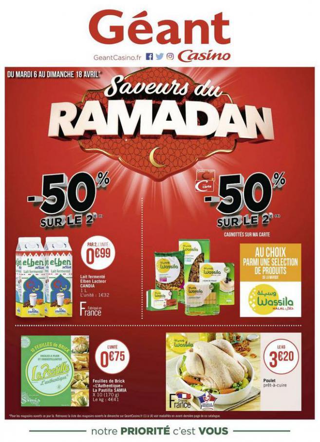 Saveurs du Ramadan . Géant Casino (2021-04-18-2021-04-18)