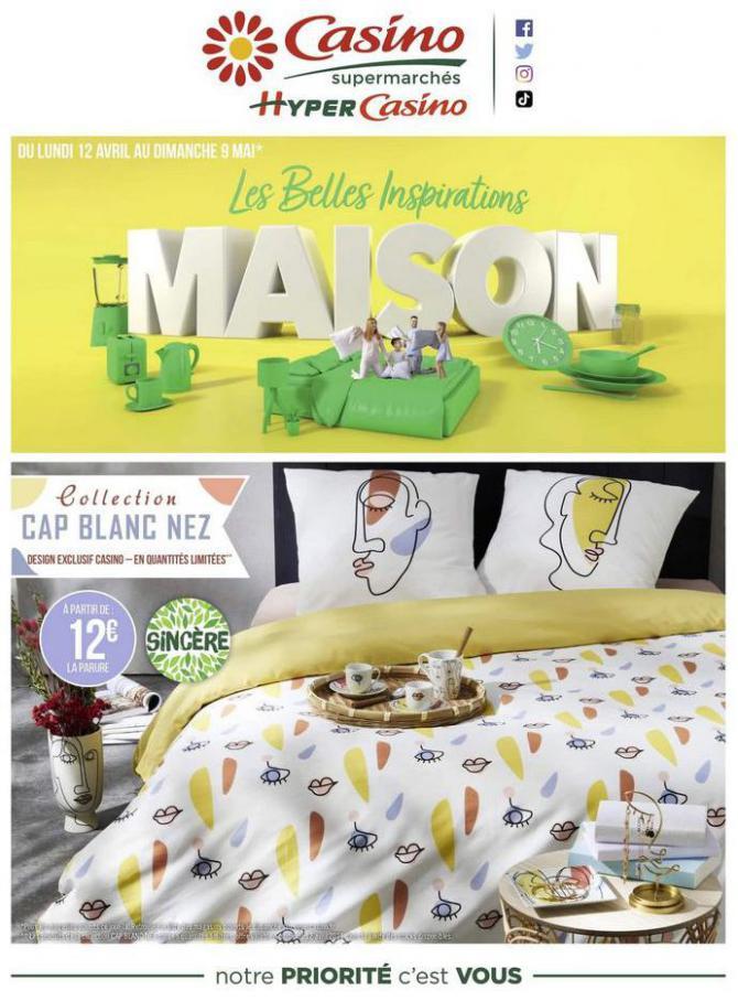 Les belles inspirations maison . Casino Supermarchés (2021-05-09-2021-05-09)