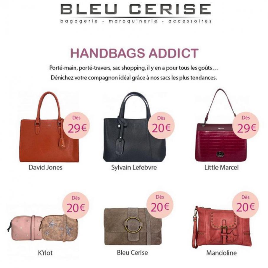 Handbags addict . Bleu Cerise (2021-05-16-2021-05-16)