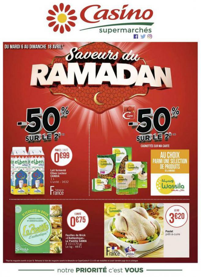 Saveurs du Ramadan . Casino Supermarchés (2021-04-18-2021-04-18)