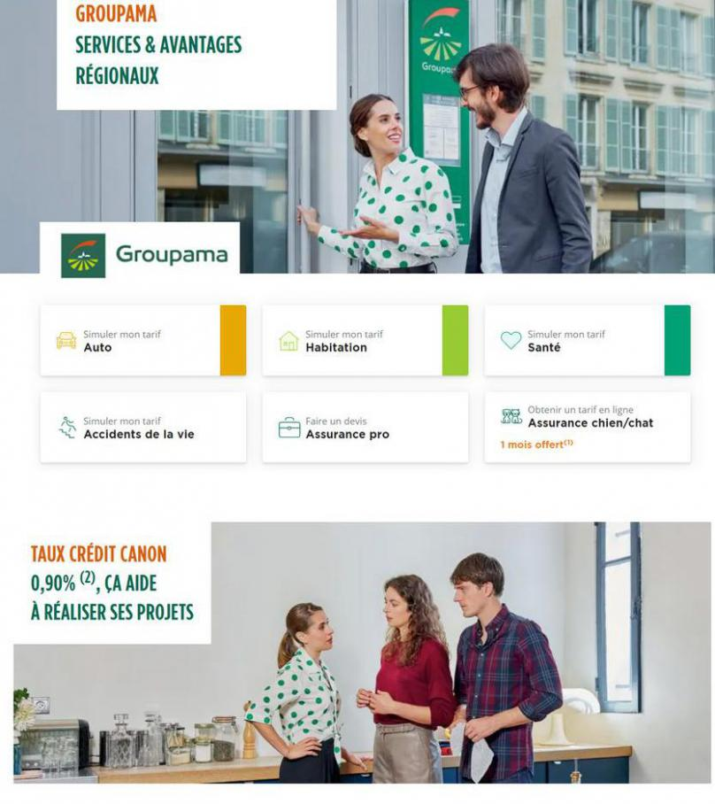 Services & Avantages Régionaux . Groupama (2021-06-01-2021-06-01)