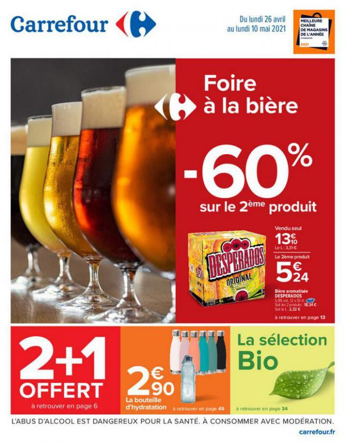 Foire à la bière . Carrefour (2021-05-10-2021-05-10)