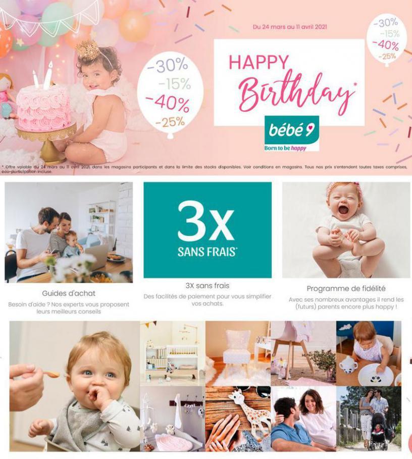 Happy Birthday . Bébé 9 (2021-04-11-2021-04-11)