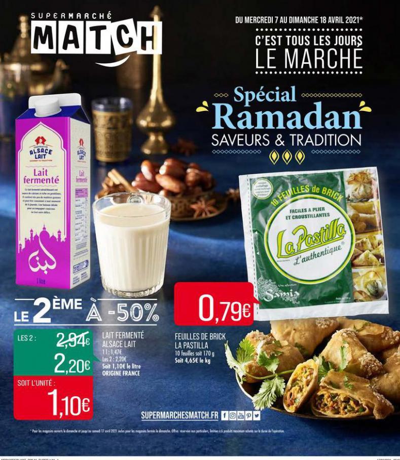 Spécial Ramadan . Match (2021-04-18-2021-04-18)