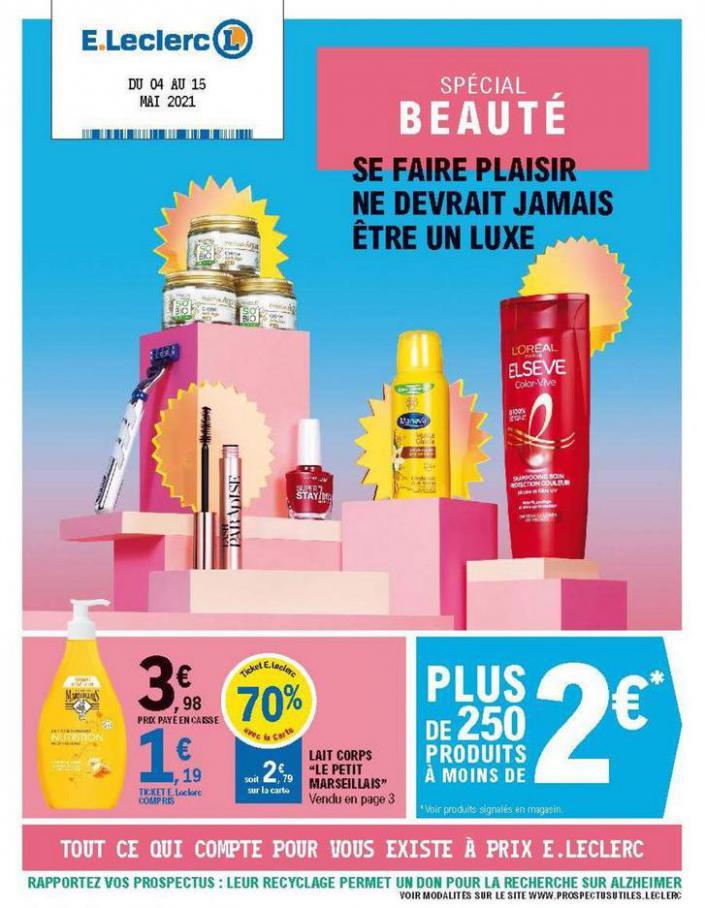 Catalogue E.Leclerc . E.Leclerc (2021-05-15-2021-05-15)
