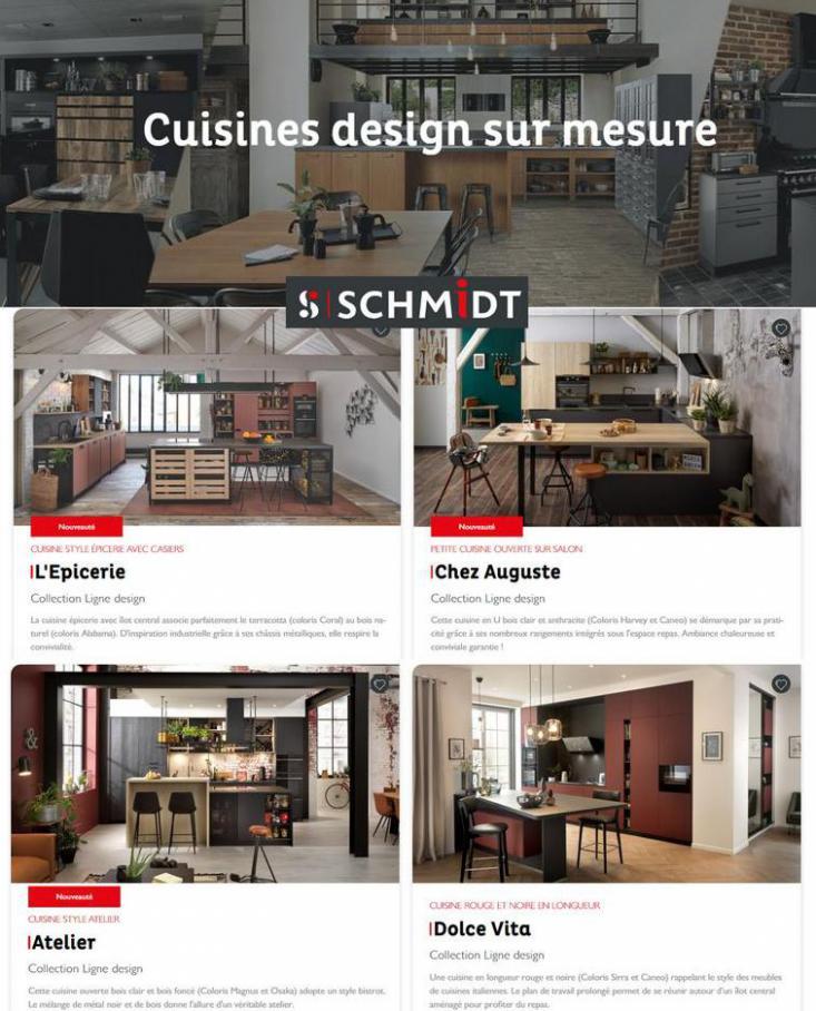 Cuisines design sur mesure . Cuisines Schmidt (2021-04-30-2021-04-30)