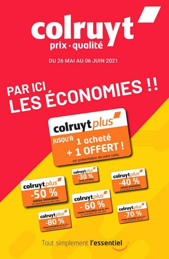 Par ici les économies !! . Colruyt (2021-06-05-2021-06-05)