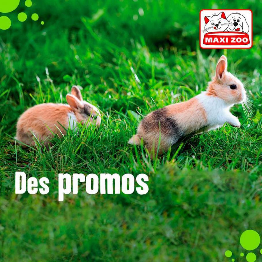 Des promos . Maxi Zoo (2021-05-16-2021-05-16)