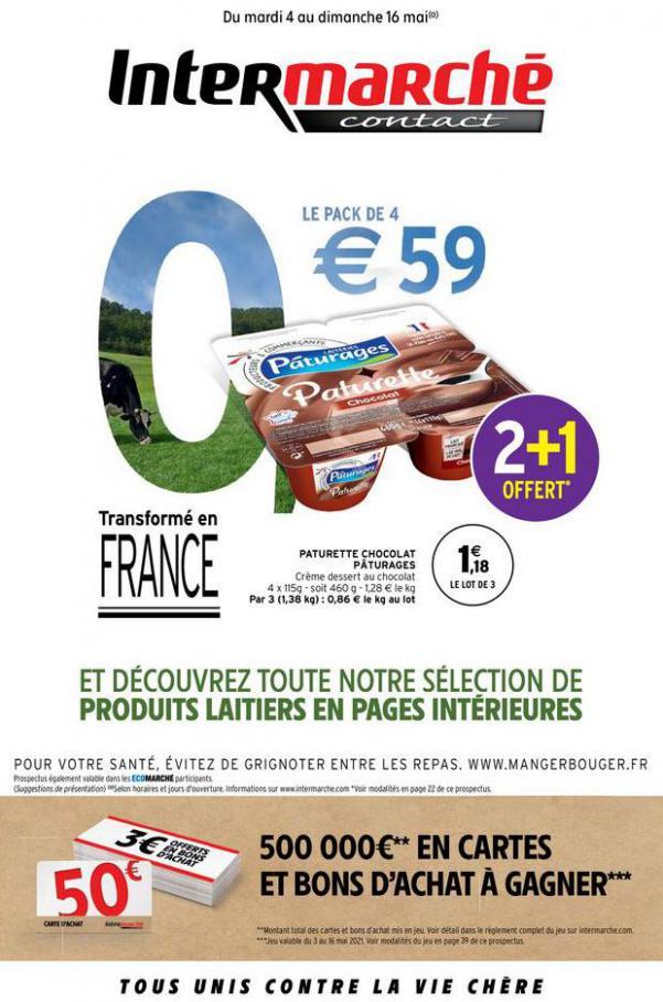 GEN MAI 1 . Intermarché (2021-05-16-2021-05-16)