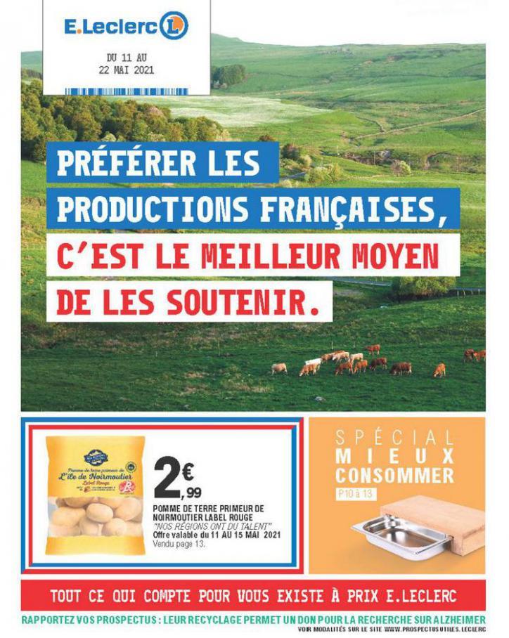 Catalogue E.Leclerc . E.Leclerc (2021-05-22-2021-05-22)