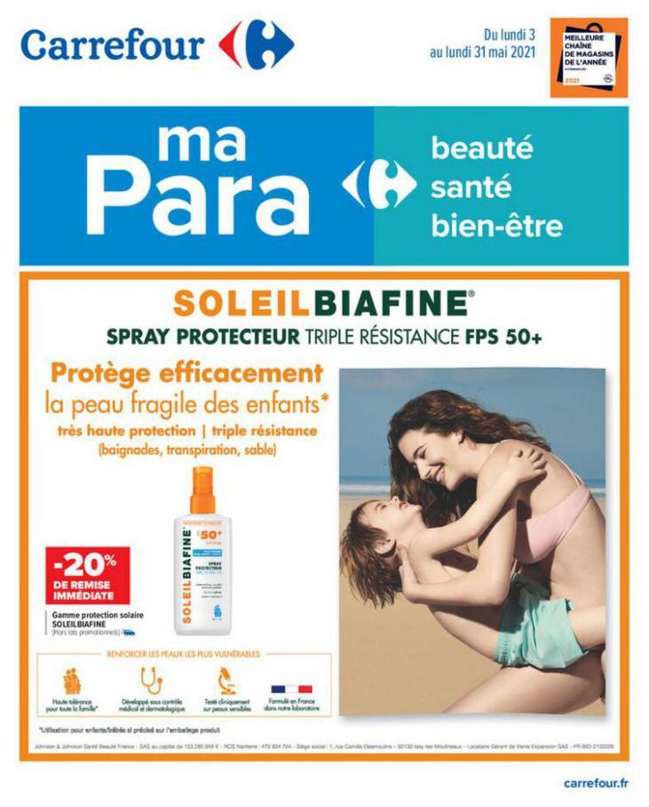 Parapharmacie mai . Carrefour (2021-05-31-2021-05-31)