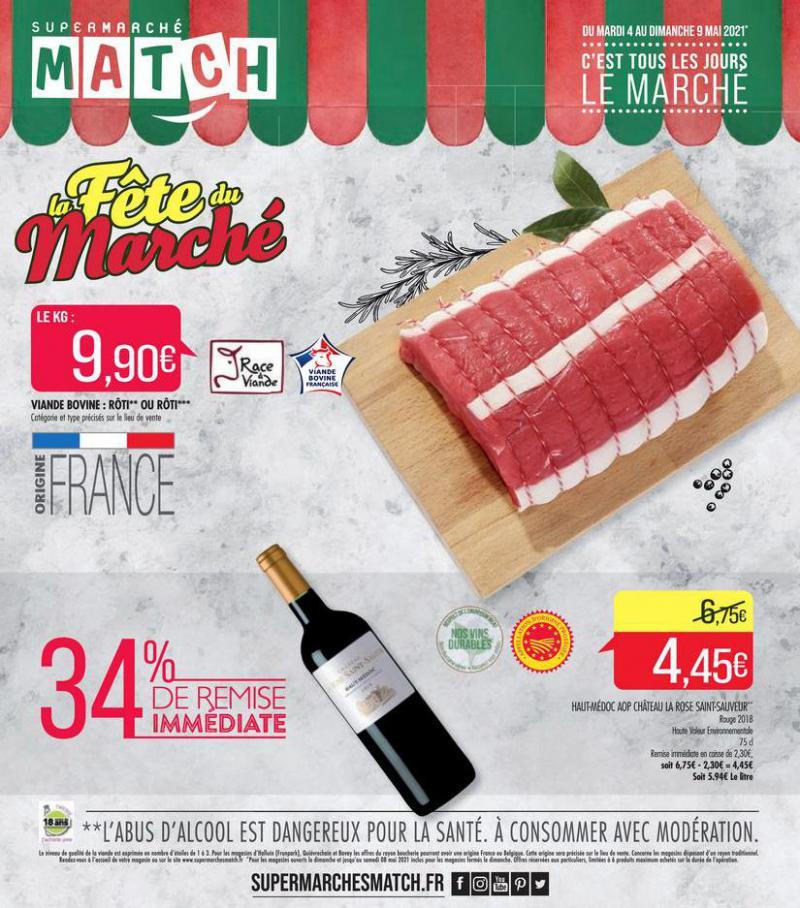 La fête du marché . Match (2021-05-09-2021-05-09)
