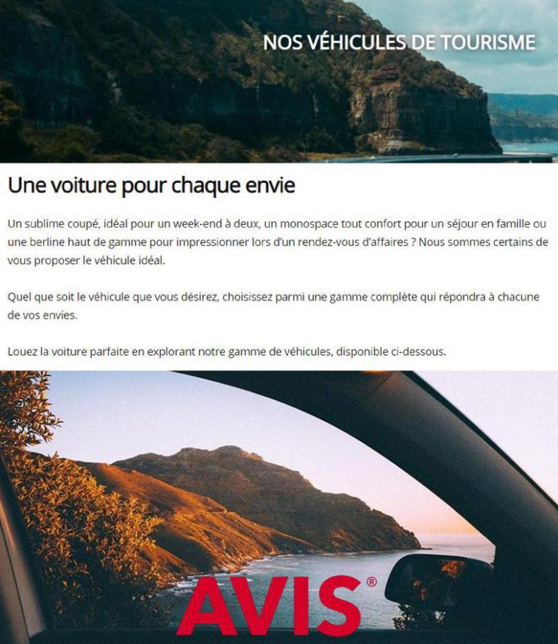 Nos véhicules de tourisme . Avis (2021-07-04-2021-07-04)