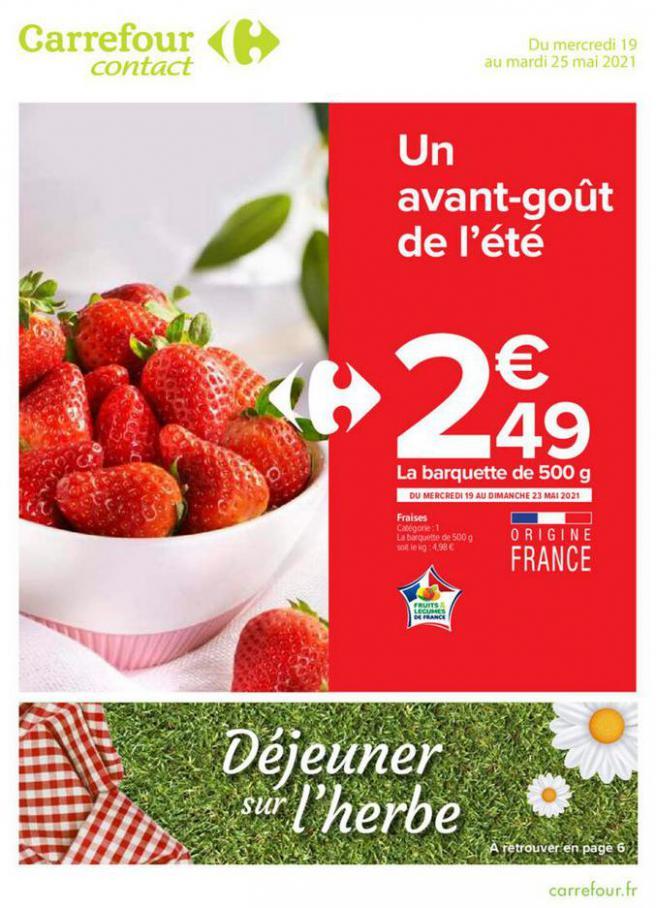 GLACES & ROSÉS . Carrefour Contact (2021-05-25-2021-05-25)
