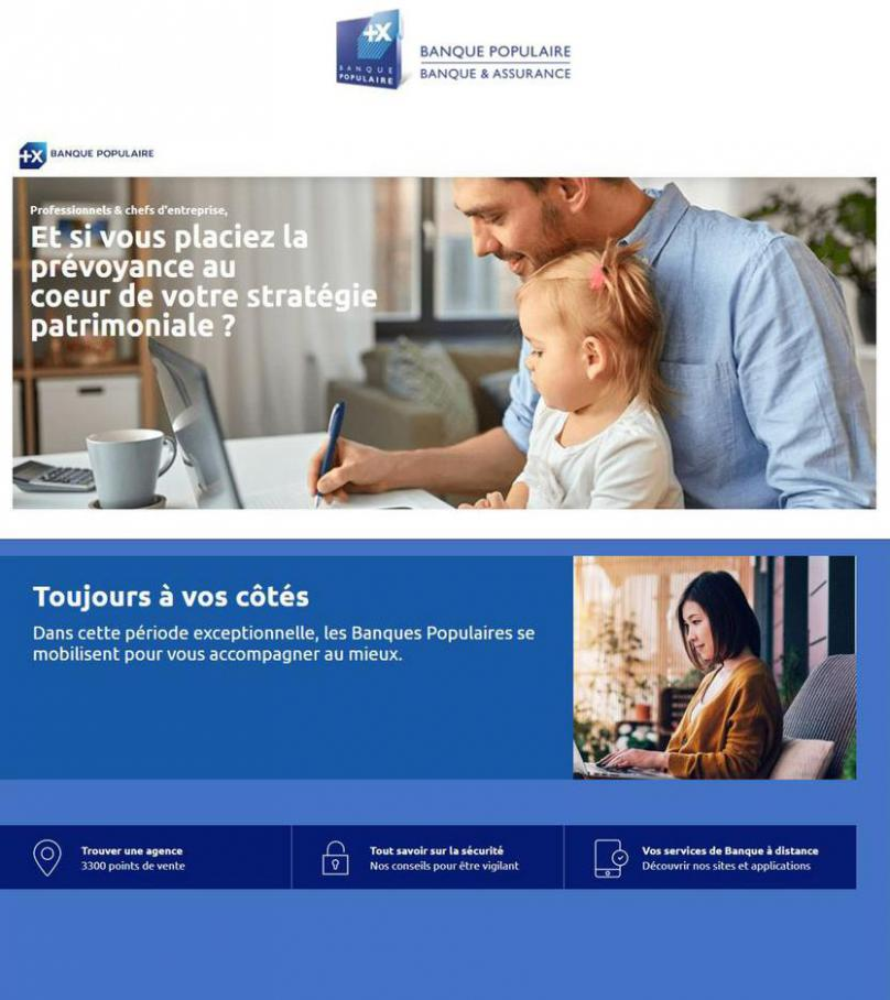toujours a vos côtés . Banque Populaire (2021-06-05-2021-06-05)
