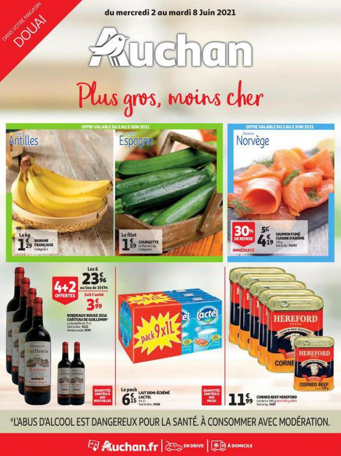 Plus gros, moins chers . Auchan Direct (2021-06-08-2021-06-08)