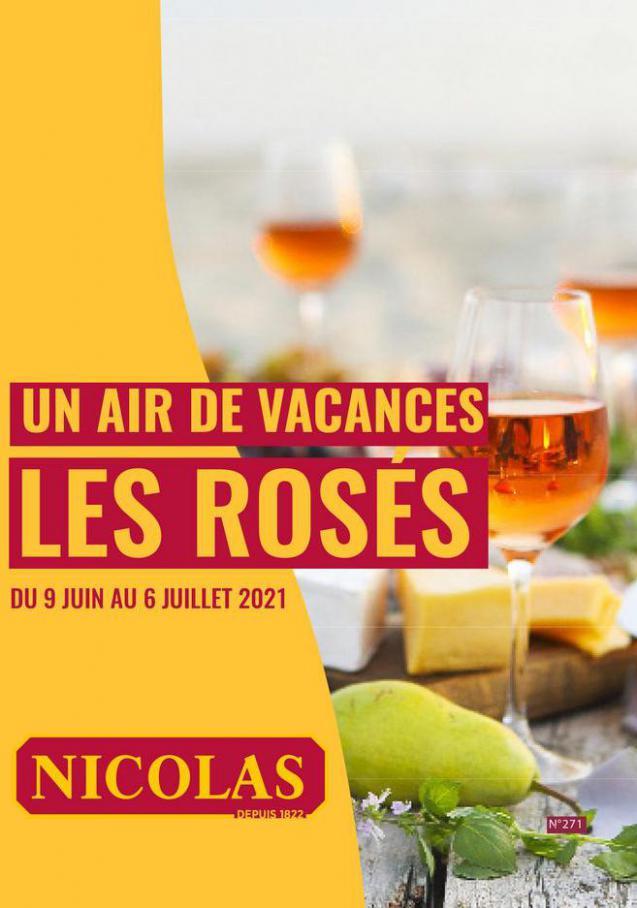 Un air de vacances les rosés. Nicolas (2021-07-06-2021-07-06)