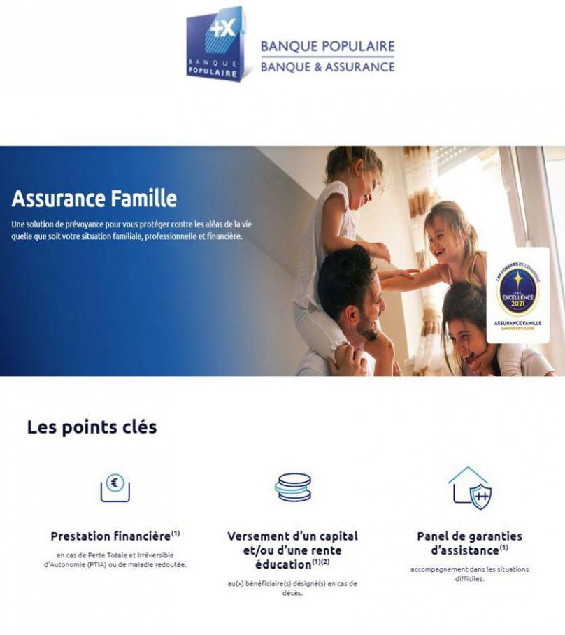 Assurance Famille. Banque Populaire (2021-06-23-2021-06-23)