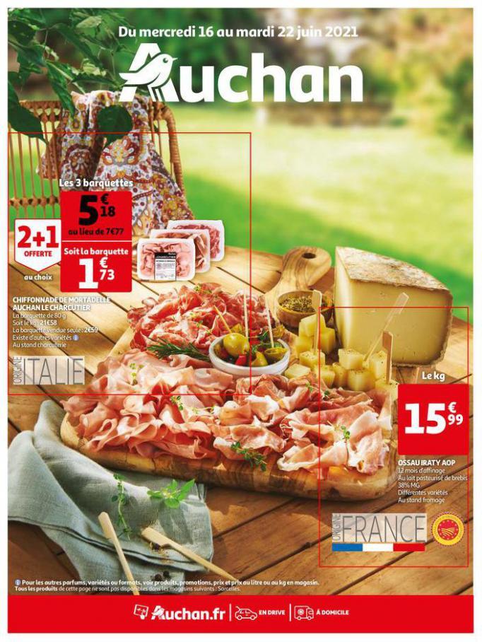 Coup de frais sur les prix !. Auchan Direct (2021-06-22-2021-06-22)