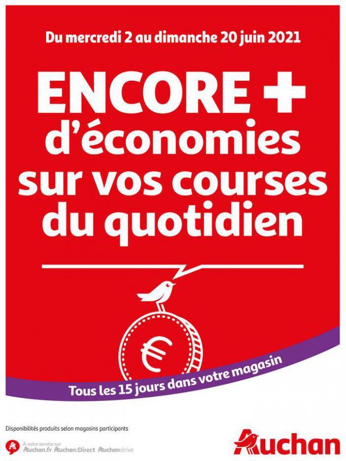 Des économies au quotidien . Auchan Direct (2021-06-20-2021-06-20)
