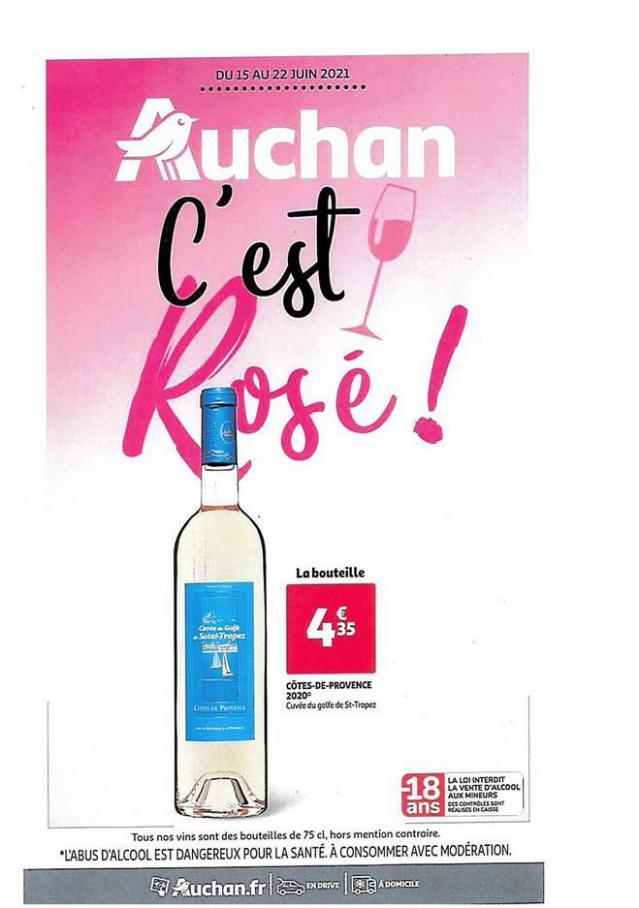 LES ROSES. Auchan Direct (2021-06-22-2021-06-22)