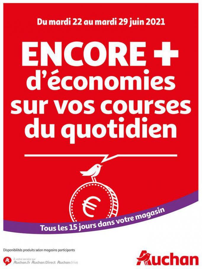 Des économies au quotidien. Auchan Direct (2021-06-29-2021-06-29)