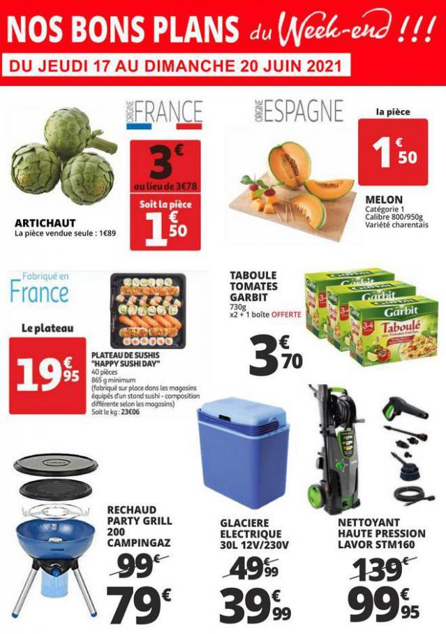 LES BONS PLANS DU WEEK END. Auchan Direct (2021-06-20-2021-06-20)
