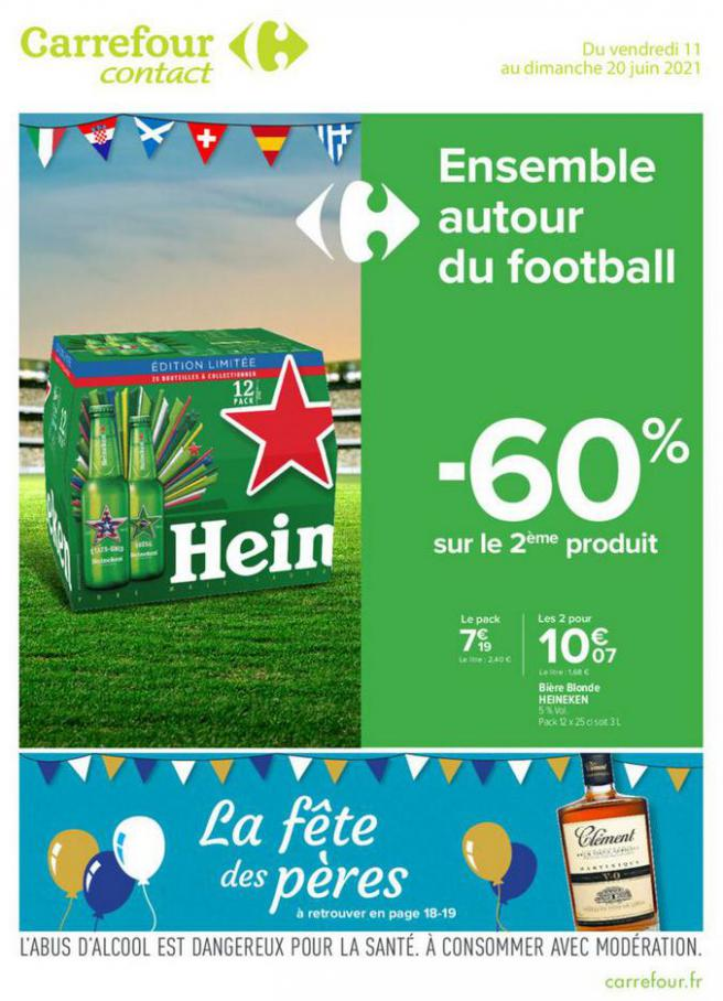 EURO FOOT . Carrefour Contact (2021-06-20-2021-06-20)