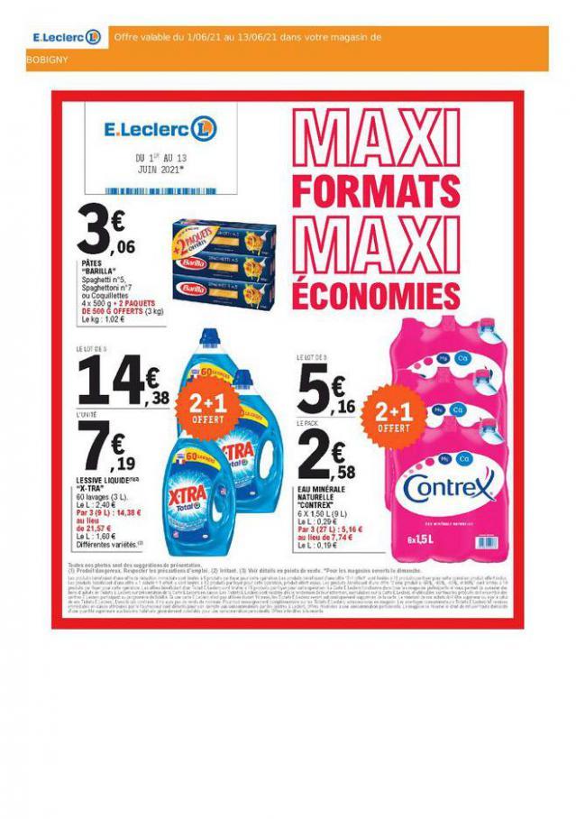 E.Leclerc Drive maxi formats maxi économies. E.Leclerc Drive (2021-06-13-2021-06-13)