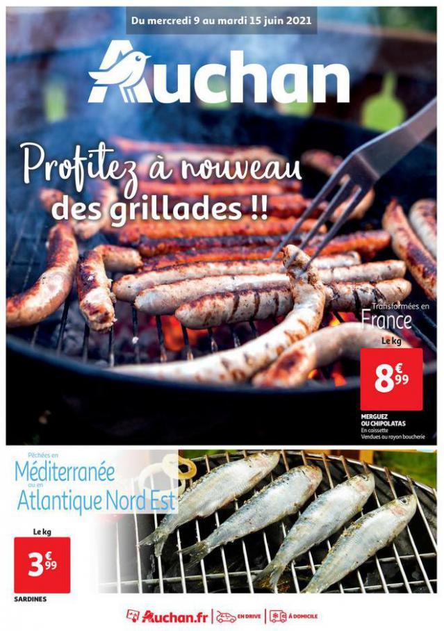 Profitez à nouveau des grillades !!. Auchan Direct (2021-06-15-2021-06-15)