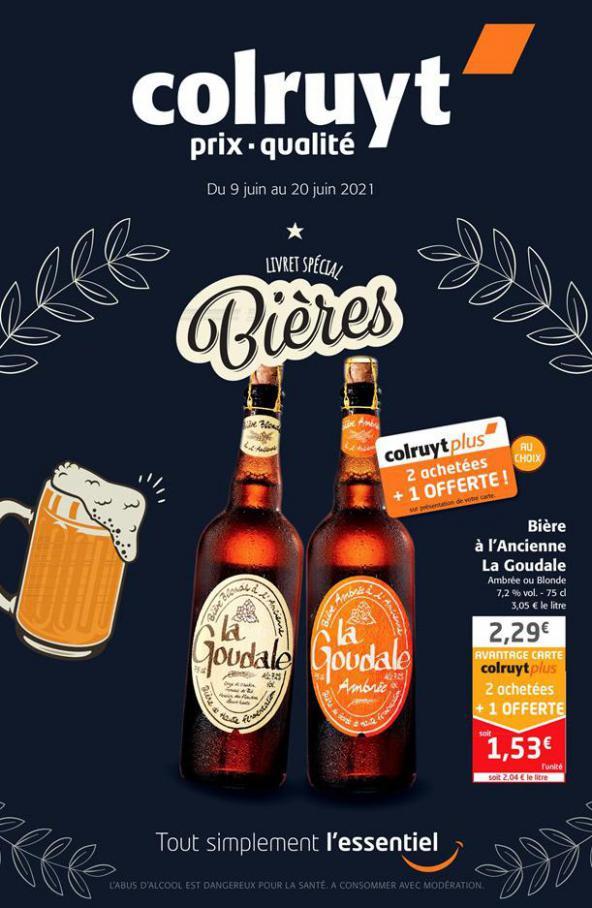 Livret spécial bières . Colruyt (2021-06-20-2021-06-20)