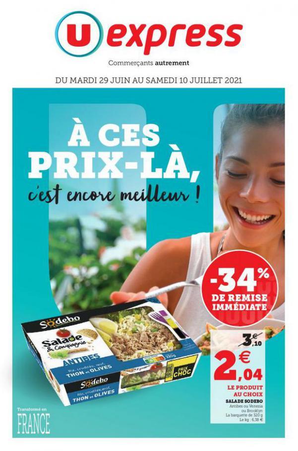 Catalogue U Express. U Express (2021-07-10-2021-07-10)