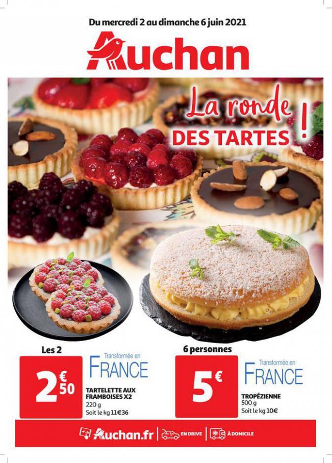 La ronde des tartes !! . Auchan Direct (2021-06-06-2021-06-06)