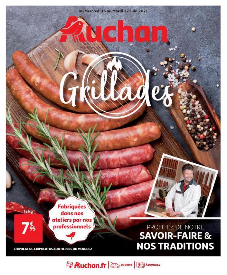 Grillades. Auchan Direct (2021-06-22-2021-06-22)