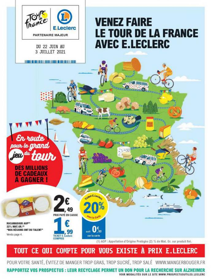Catalogue E.Leclerc. E.Leclerc (2021-07-03-2021-07-03)