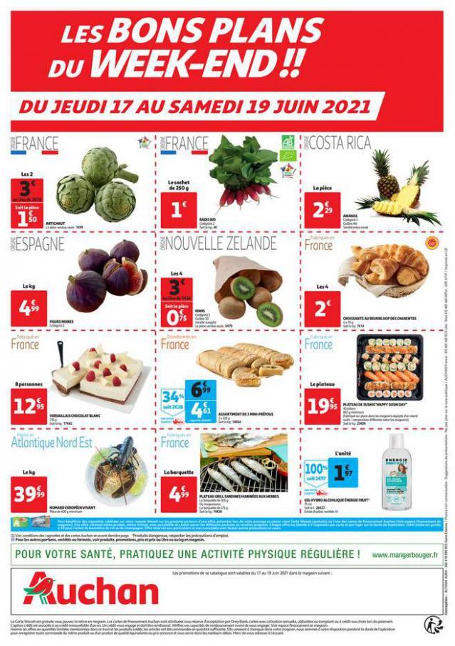 Les bons plans du week-end. Auchan Direct (2021-06-19-2021-06-19)