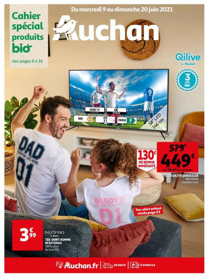Du bio partout, pour tous !. Auchan Direct (2021-06-20-2021-06-20)