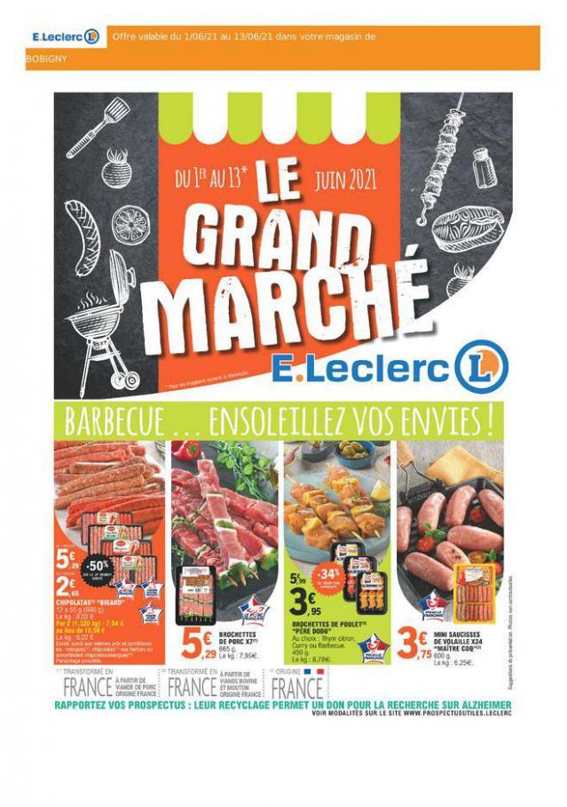 E.Leclerc Drive Le Grande Marché. E.Leclerc Drive (2021-06-13-2021-06-13)