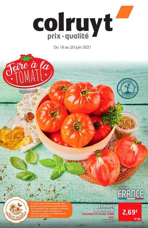 Foire à la tomate. Colruyt (2021-06-20-2021-06-20)