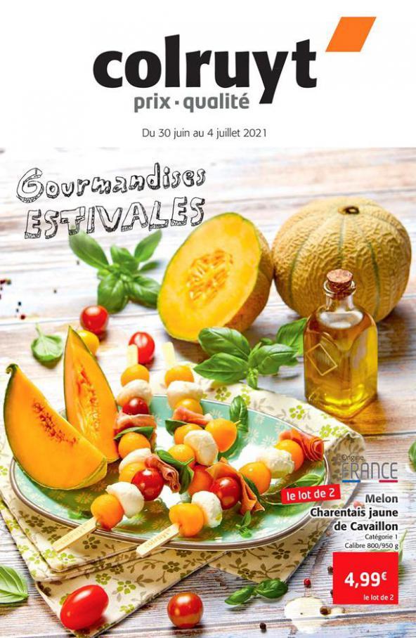 Gourmandises Estivales. Colruyt (2021-07-04-2021-07-04)
