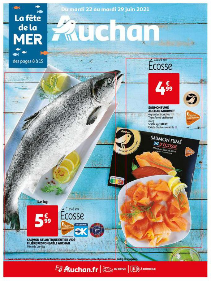 La fête de la mer !. Auchan Direct (2021-06-29-2021-06-29)