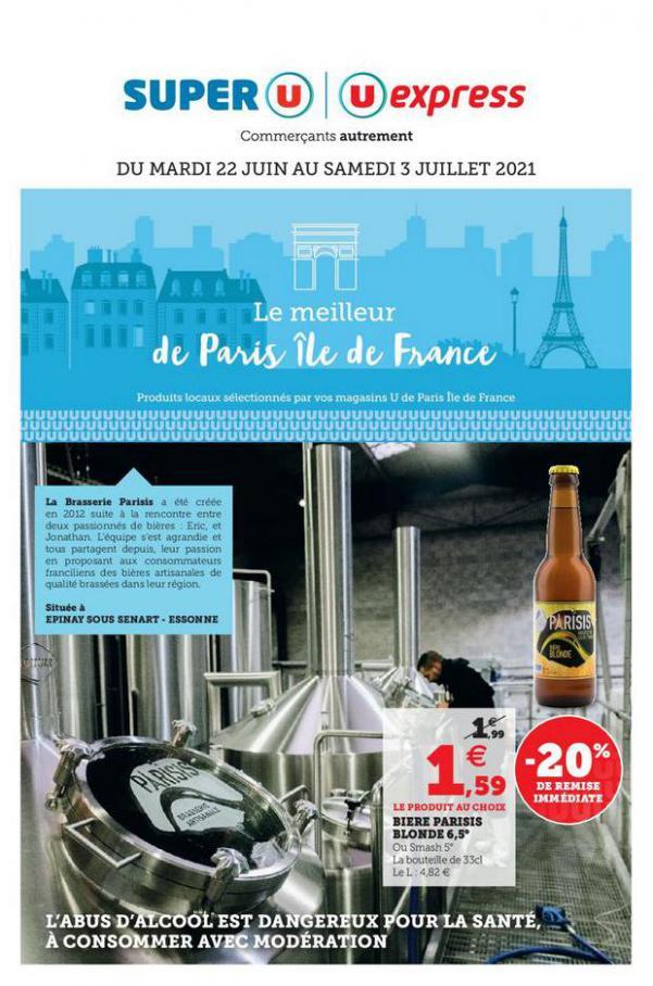 LE MEILLEUR DE PARIS ÎLE DE FRANCE. U Express (2021-07-03-2021-07-03)