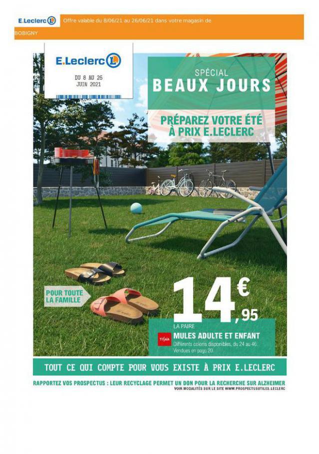 E.Leclerc Drive Beaux Jours. E.Leclerc Drive (2021-06-26-2021-06-26)