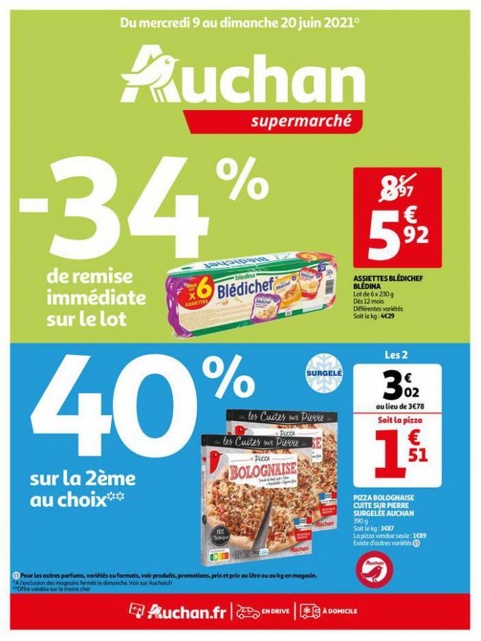 Du bio à tous les rayons !. Auchan Direct (2021-06-20-2021-06-20)